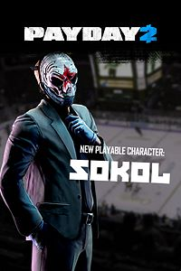 Carátula del juego PAYDAY 2: CRIMEWAVE EDITION - The Sokol Character Pack