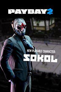 Carátula del juego PAYDAY 2: CRIMEWAVE EDITION - The Sokol Character Pack