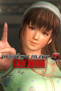 Carátula del juego DEAD OR ALIVE 5 Last Round Hitomi Bedtime Costume