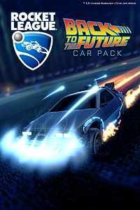 Carátula del juego Rocket League - Back to the Future Car Pack de Xbox One