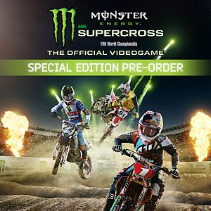 Monster Energy Supercross - Special Edition Pre-order Xbox One