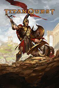 Carátula para el juego Titan Quest de Xbox 360