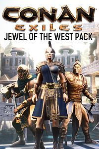 Carátula del juego Jewel of the West Pack