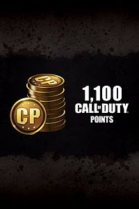 Carátula del juego 1,100 Call of Duty: Black Ops III Points de Xbox One