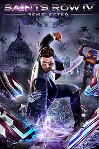 Carátula del juego Saints Row IV: Re-Elected de Xbox One