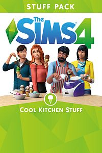 Carátula del juego The Sims 4 Cool Kitchen Stuff