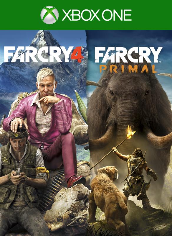 Far Cry 4 + Far Cry Primal boxshot