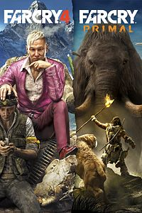 Carátula del juego FAR CRY 4 + FAR CRY PRIMAL BUNDLE para Xbox One