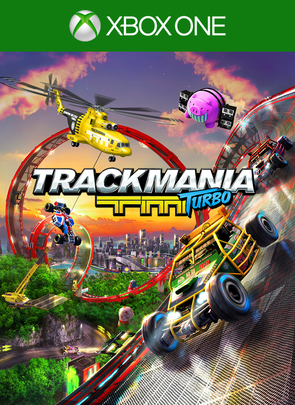 Trackmania Turbo boxshot