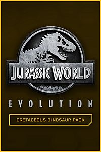 Carátula del juego Jurassic World Evolution: Cretaceous Dinosaur Pack