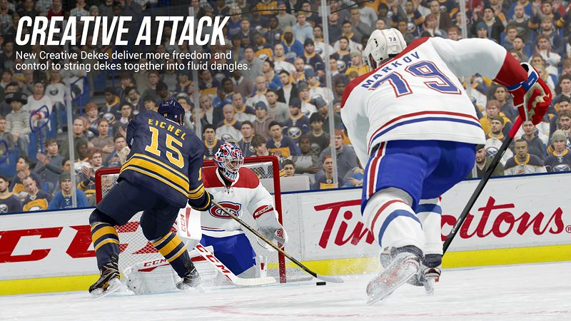 EA SPORTS™ NHL® 18 Screenshot