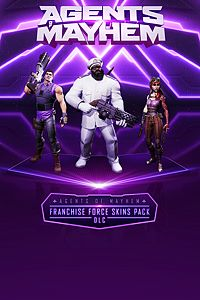Carátula del juego Agents of Mayhem - Franchise Force Skins Pack