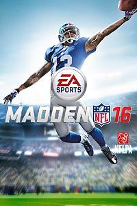 Carátula del juego Madden NFL 16