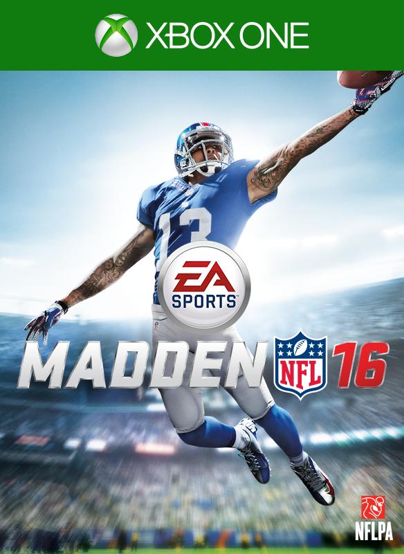 Madden NFL 16 boxshot
