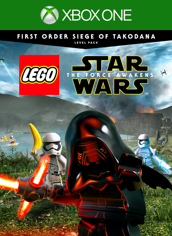 Paquete de nivel La batalla de Takodana con la Primera Orden