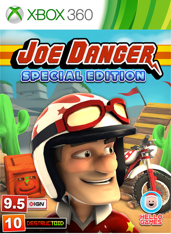 Joe Danger Special Edition boxshot