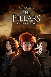 Carátula para el juego Ken Follett's The Pillars of the Earth de Xbox 360