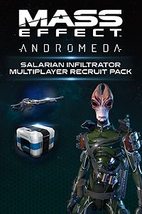 Carátula del juego Mass Effect: Andromeda - Salarian Infiltrator Multiplayer Recruit Pack
