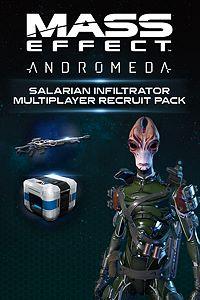 Carátula para el juego Mass Effect: Andromeda - Salarian Infiltrator Multiplayer Recruit Pack de Xbox 360