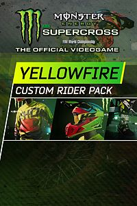 Carátula del juego Monster Energy Supercross - Yellowfire Custom Rider Pack
