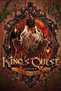 Carátula del juego King's Quest - Chapter 5: The Good Knight