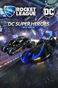 Carátula del juego Rocket League - DC Super Heroes DLC Pack