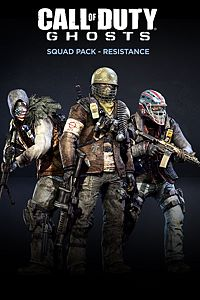 Carátula del juego Call of Duty: Ghosts - Squad Pack - Resistance de Xbox One