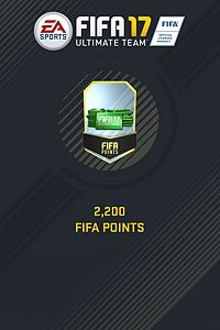 2200 FIFA 17 Points Pack