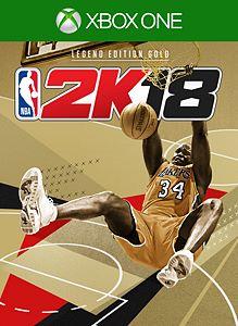 NBA 2K18 Legend Edition Gold boxshot