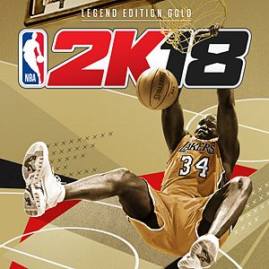 NBA 2K18 Legend Edition Gold Xbox One