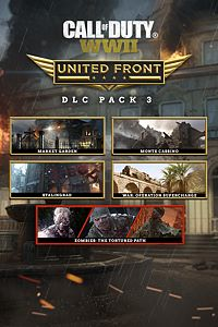 Carátula del juego Call of Duty: WWII - United Front: DLC Pack 3