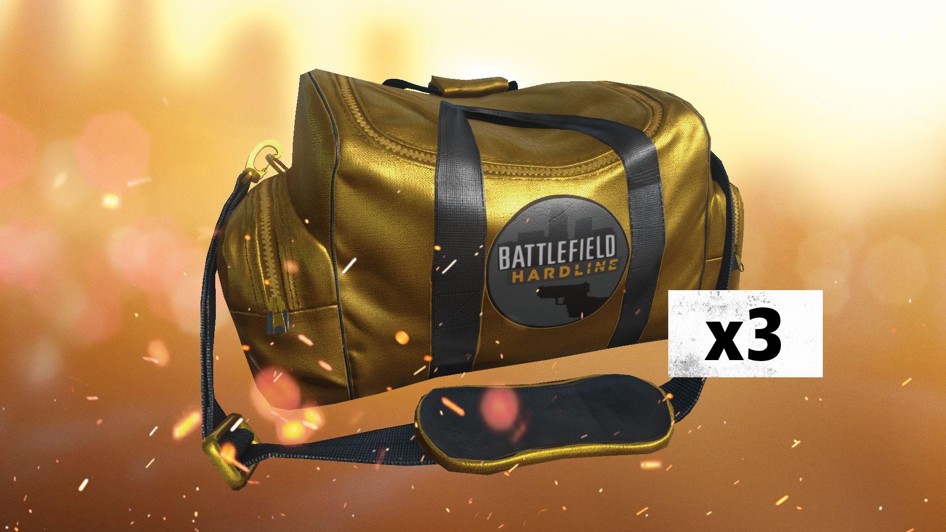 Battlefield Hardline 3 X Gold Battlepacks