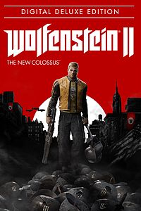Carátula del juego Wolfenstein II: The New Colossus Digital Deluxe Edition