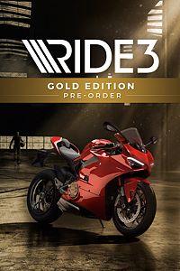 Carátula para el juego RIDE 3 - Gold Edition Pre-order de Xbox One