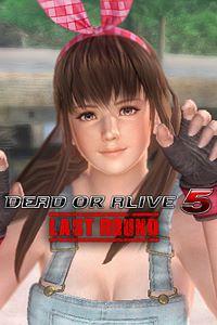 Carátula del juego DEAD OR ALIVE 5 Last Round Hitomi Overalls de Xbox One