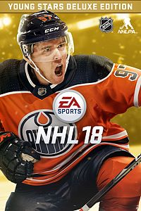 Carátula del juego EA SPORTS NHL 18 Young Stars Deluxe Edition para Xbox One