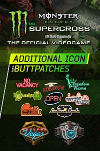 Carátula del juego Monster Energy Supercross - Additional Icons & Buttpatches