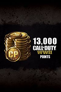 Carátula del juego 13,000 Call of Duty: WWII Points