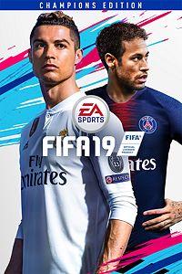 Carátula para el juego FIFA 19 Champions Edition de Xbox One
