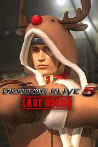 Carátula del juego DEAD OR ALIVE 5 Last Round Hayate Christmas Costume