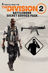 Carátula del juego Tom Clancy's The Division 2 - Battleworn Sercret Service Pack
