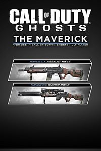 Carátula del juego Call of Duty: Ghosts - Weapon - The Maverick de Xbox One