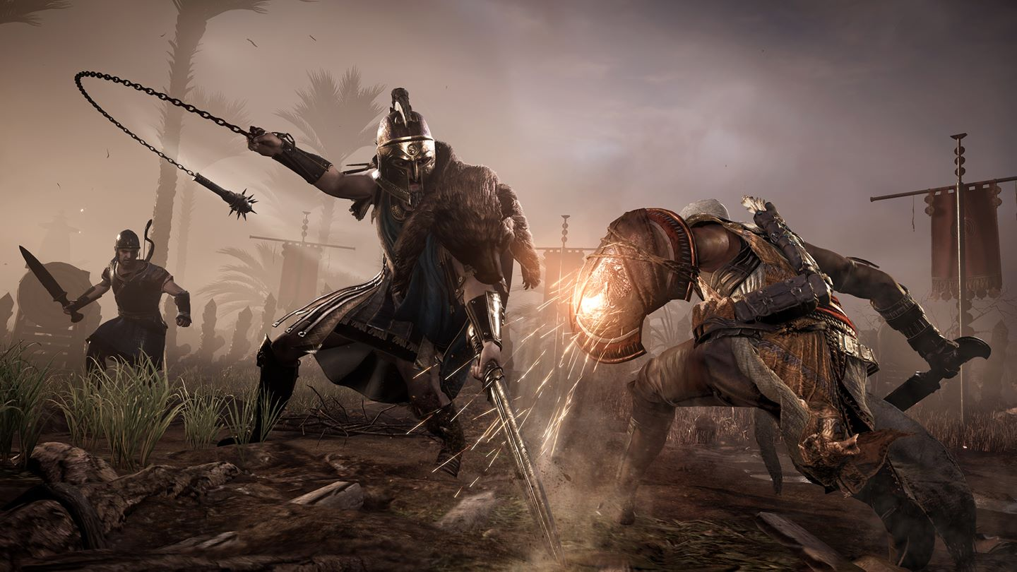 How Assassin S Creed Origins Role Playing Mechanics Are A Game