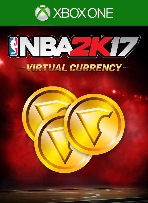 NBA 2K17 75,000 VC boxshot