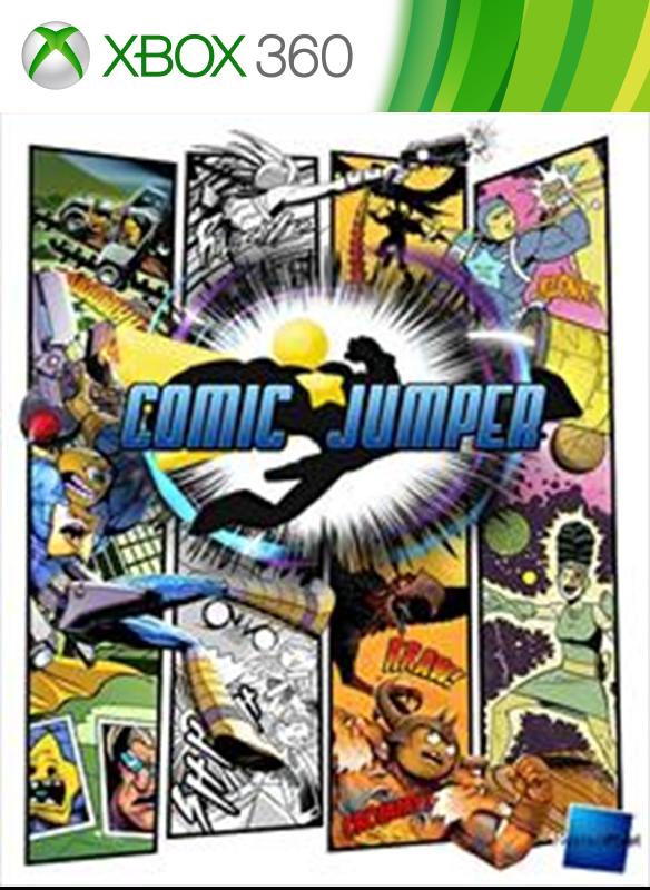 Comic Jumper boxshot