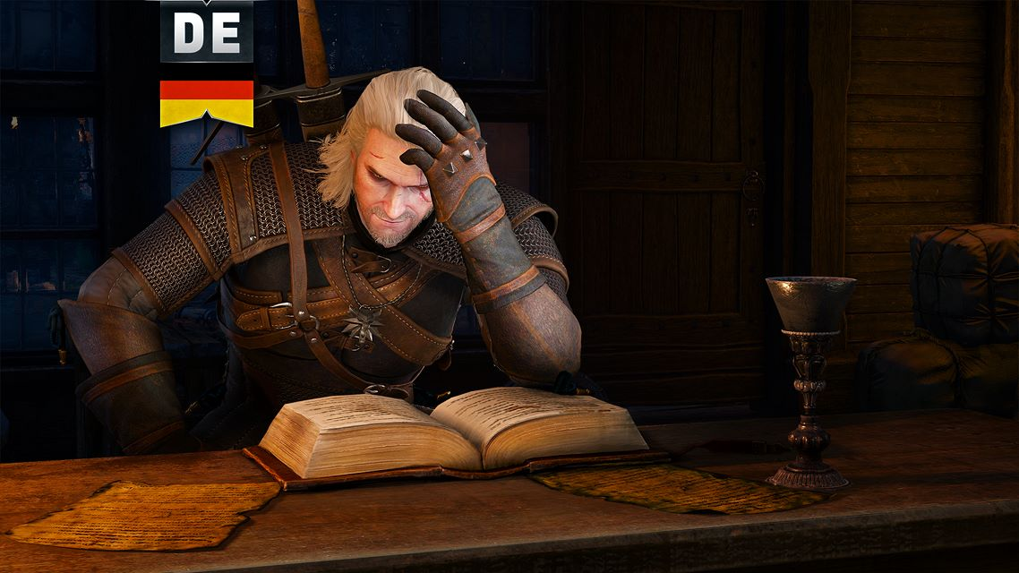 the witcher 3 wild hunt language pack de on xbox one. Black Bedroom Furniture Sets. Home Design Ideas