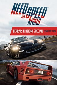 Carátula del juego Need for Speed Rivals Ferrari Edizioni Speciali Complete Pack de Xbox One