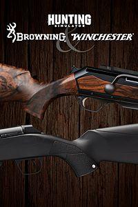 Carátula del juego Hunting Simulator Browning & Winchester Pack