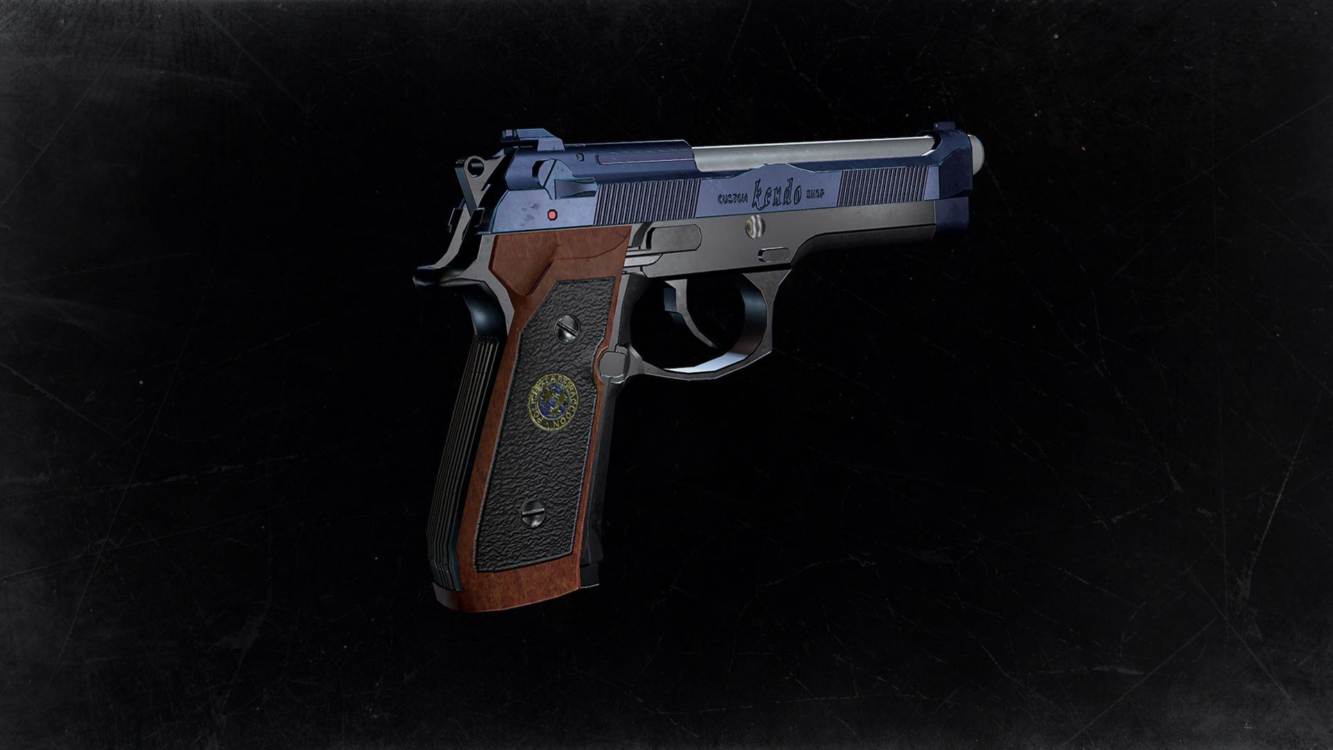 """Deluxe-Waffe: """"Samurai Edge - Chris' Modell"""""""