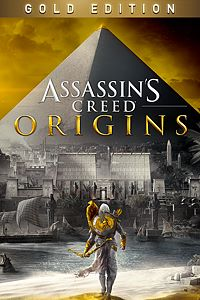 Carátula para el juego Assassin's Creed Origins - GOLD EDITION de Xbox One
